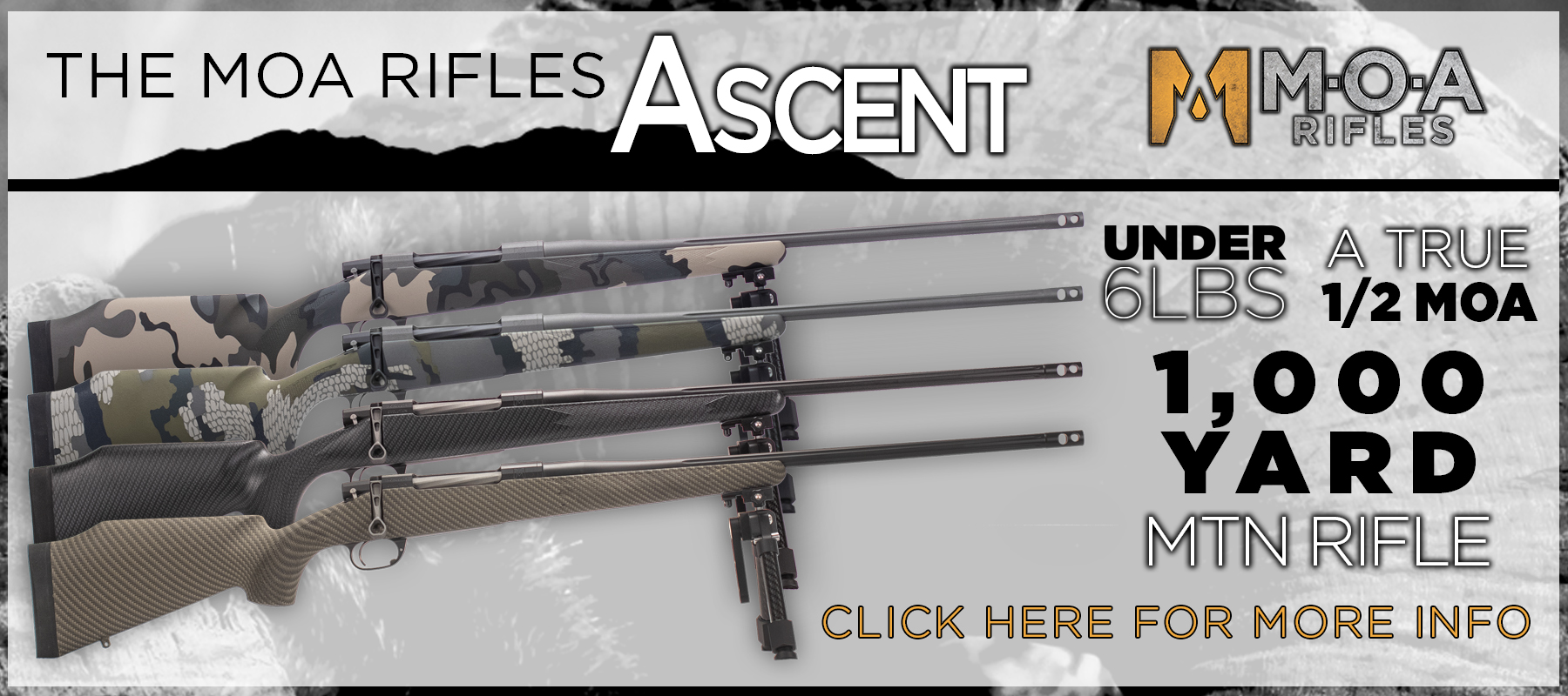 MOA Rifles | The Evolution of Long Range Hunting Rifles – THE